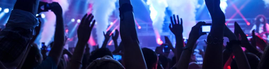 Musikunderhållning-Publik
